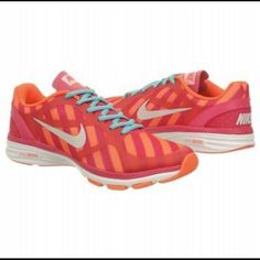sports shoes f96fc 96cb7 Pink Orange Striped Nike S Nike Training Shoes, Running Shoes, Gym Bag  Essentials,