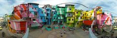 Street Artists Haas & Hahn Brighten Santa Marta Favela In Rio De Janeiro