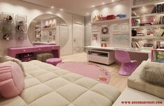 large and amazing teen room decoration for girls  Decorating A Teenager's Room For Girls