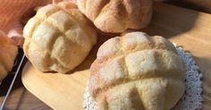 「激うま♡秘密にしたい我が家のメロンパン♡」アーモンドプードル使用の外側カリッカリの中はふわっふわなメロンパンが出来上がりました♡ 材料:《パン生地》、強力粉、砂糖.. Cooking Bread, Cooking Dishes, Easy Cooking, Bread Baking, Cooking Recipes, Japanese Bread, Bread Bun, Bread And Pastries, No Cook Desserts