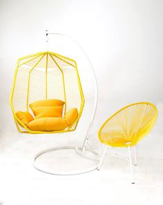 Yellow for outdoor ....