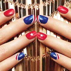 Semi-permanent varnish, false nails, patches: which manicure to choose? - My Nails New Nail Colors, Manicure Colors, Gel Manicure, Colorful Nails, Fake Gel Nails, Avon Nails, Summer Gel Nails, Spring Nails, 4th Of July Nails