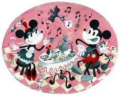 mickeys serenade by missbrigette, via Flickr