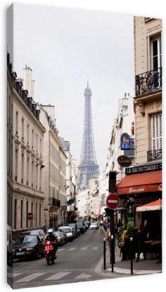 Paris op canvas, dibond of (ingelijste) poster print.