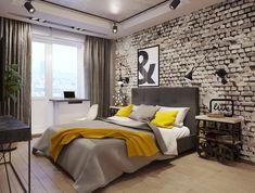 Ideas For Modern Bedroom Interior Design - Tamamedia Master Bedroom Interior, Modern Master Bedroom, Modern Bedroom Decor, Bedroom Simple, Bedroom Interiors, Bedroom Designs Images, Tranquil Bedroom, Bedroom Layouts, Loft Design