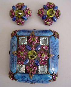 Ювелирные украшения и бижутерия Henry Schreiner (1951-1970)