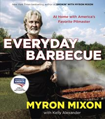 Smoked Whiskey Wings from Myron Mixon's new cookbook, Everyday Barbecue