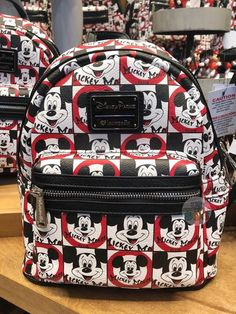 045d77eb7090 DLR - Mickey Mouse Club - Mickey Mouseketeer All-Over-Print Backpack by  Loungefly
