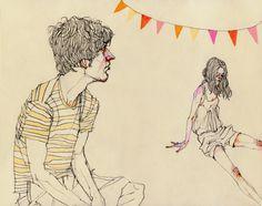 Fashion/Lifestyle Illustration by deanna staffo, via Behance
