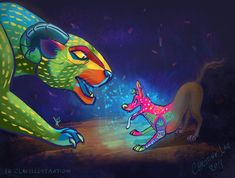 Alebrijes by Asenceana on DeviantArt Drawing Cartoon Characters, Character Drawing, Cartoon Drawings, Disney Pixar Movies, Disney And Dreamworks, Fanart, Disney Kunst, Disney Addict, Disney Fan Art