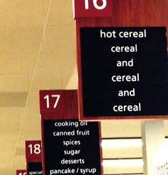 Wow... that's a lot of cereal