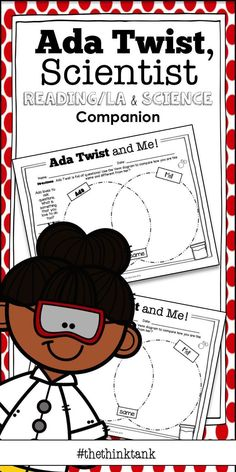 Wow… Ada Marie Twist refuses to settle for nothing less than answers or solutions to her questions. This resource gives students an opportunity to build comprehension skills with seven reading handouts and think like scientists with three science handouts and a S.T.E.M. activity on what is the best paper to clean up a water spill. #thethinktank #TpT