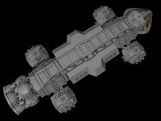 Eagle Transporter Re-Design by JefferyWright.deviantart.com on @DeviantArt