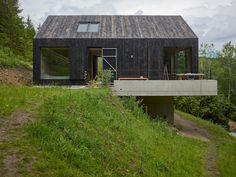 Haus am Thurnberger Stausee: moderne Häuser von Backraum Architektur