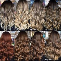 Are you going to balayage hair for the first time and know nothing about this technique? We've gathered everything you need to know about balayage, check! Brown Hair With Highlights, Brown Blonde Hair, Brunette Hair, Blonde Highlights, Dark Hair, Baylage Brunette, Caramel Balayage Brunette, Dark To Light Hair, Carmel Highlights