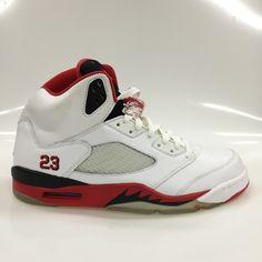 CONDITION: Brand New STYLE NUMBER: 136027-162 YEAR: 2006 COLORWAY: White. Jordan  5Michael JordanAir JordansRed BlackBasketball ...