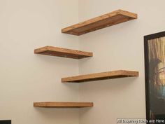 Awesome 20+ Cheap Diy Wall Shelves Floating Ideas. More at http://www.trendhmdcr.com/2018/05/18/20-cheap-diy-wall-shelves-floating-ideas/