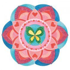 Cuaderno para colorear Graffy pop Mandala - Chicas - 36 páginas - Fotografía n°3