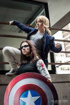 ♠ Winter Soldier Cosplay, Marvel Cosplay, Captain America, Fantasy, Superhero, Amazing, Fun, Character, Fantasy Books