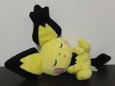 Pokemon Center Pichu Sleeping Plush 2009 Japan