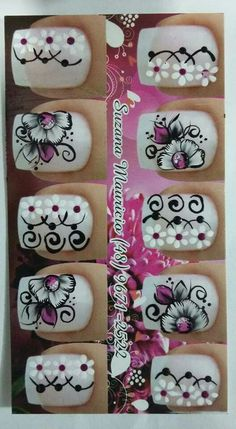 Línduu! Nails & Co, Nails Inspiration, Nail Art Designs, Projects To Try, Hair Beauty, Nail Stickers, Glitter Nail Art, Finger Nail Painting, Manicure Ideas