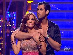 dwts - max and melissa gilbert
