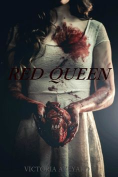 maven-or-cal: Red Queen by Victoria Aveyard - The most disturbing picture i've seen of the fandom and i love it!