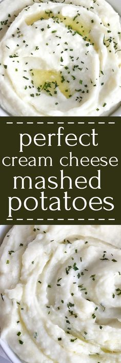 These are perfect cream cheese mashed potatoes. Only a few simple ingredients for creamy, smooth, and mashed potatoes that are full of flavor. A great side dish for Thanksgiving, dinner, or any special Holiday dinner   togetherasfamily.com #thanksgiving #recipe #mashedpotatoes #sidedish