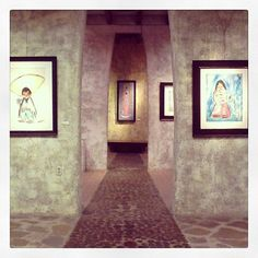 "We currently have three exhibition on display ""DeGrazia Watercolors"", ""The Seri Indians- A Primitive People of Tiburon Island in the Gulf of California"" and ""Our Lady of Guadalupe""."