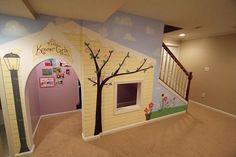 10+ Kids Under Stair Playhouse DIY Ideas and Tutorial - The Perfect DIY #indoorplayhouseideas