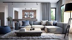 "Popatrz na ten projekt w @Behance: ""Modern Small Apartment"" https://www.behance.net/gallery/47771741/Modern-Small-Apartment"