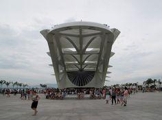 Museu do Amanhã em píer encravado na Praça Mauá, Rio de Janeiro. Arquiteto Santiago Calatrava<br />Foto Paulo Afonso Rheingantz