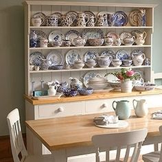 Hutch And Table Set The Kitchen Dresser Company
