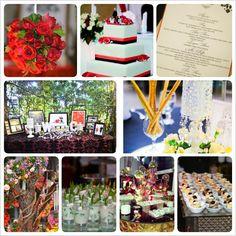 Our wedding reception decor and food Wedding Reception Decorations, Table Decorations, Wedding Stuff, Our Wedding, Food, Home Decor, Decoration Home, Room Decor, Essen