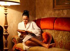 girl reading Dostoevsky