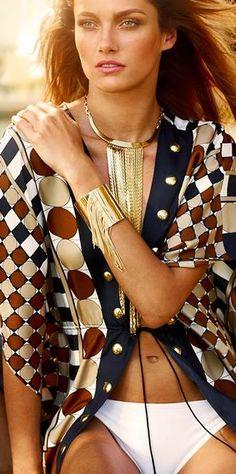M Kors fringe fashion ♥✤ | Keep the Glamour | BeStayBeautiful