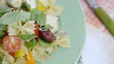 salade pâte olive tofu