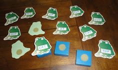 Learners in Bloom: Leaping Frogs Homemade Reading Game