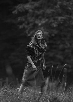 Signe Veiteberg by Janne Rugland for One magazine.  Ph: Janne Rugland Style: Anette Von Osten Hair & makeup: Jens Wiker Model: Signe Veiteberg / Teammodels