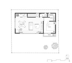 House in a Geo,Second Floor Plan