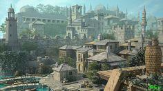 """Medieval City"" - 3D Environment Design by Bhaskar Dutta"
