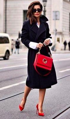 Красные акценты в образах Hermes Kelly, Jackets, Bags, Style, Fashion, Down Jackets, Handbags, Swag, Moda