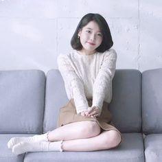 Pretty Asian, Beautiful Asian Girls, Kpop Girl Groups, Kpop Girls, Iu Gif, Oppa Gangnam Style, Teen Photography, Cute Korean Girl, Iu Fashion