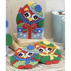 Craftways® Ho-Ho-Howling Coasters with Holder Plastic Canvas Kit Was: $16.00                     Now: $9.99