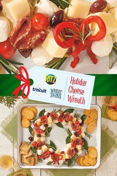Christmas Snacks, Christmas Brunch, Christmas Appetizers, Christmas Menus, Christmas Eve, Gourmet Appetizers, Appetizer Dips, Appetizer Recipes, Fiesta Ranch Dip