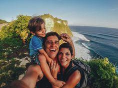 Família brasiliense dá volta ao mundo com filho de 4 anos