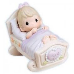 infant brunett, precius moment, precious moments3, moment figurin, moment babi