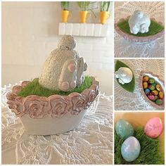 AI / Easter decorations with concrete 😊