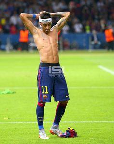 Soccer Players in Underwear Neymar Jr, Good Soccer Players, Football Players, Soccer Poses, Paris Saint Germain Fc, Football Tops, National Football Teams, Best Player, Fc Barcelona