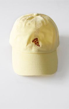 Pizza Cap - Yellow | NYCT Clothing